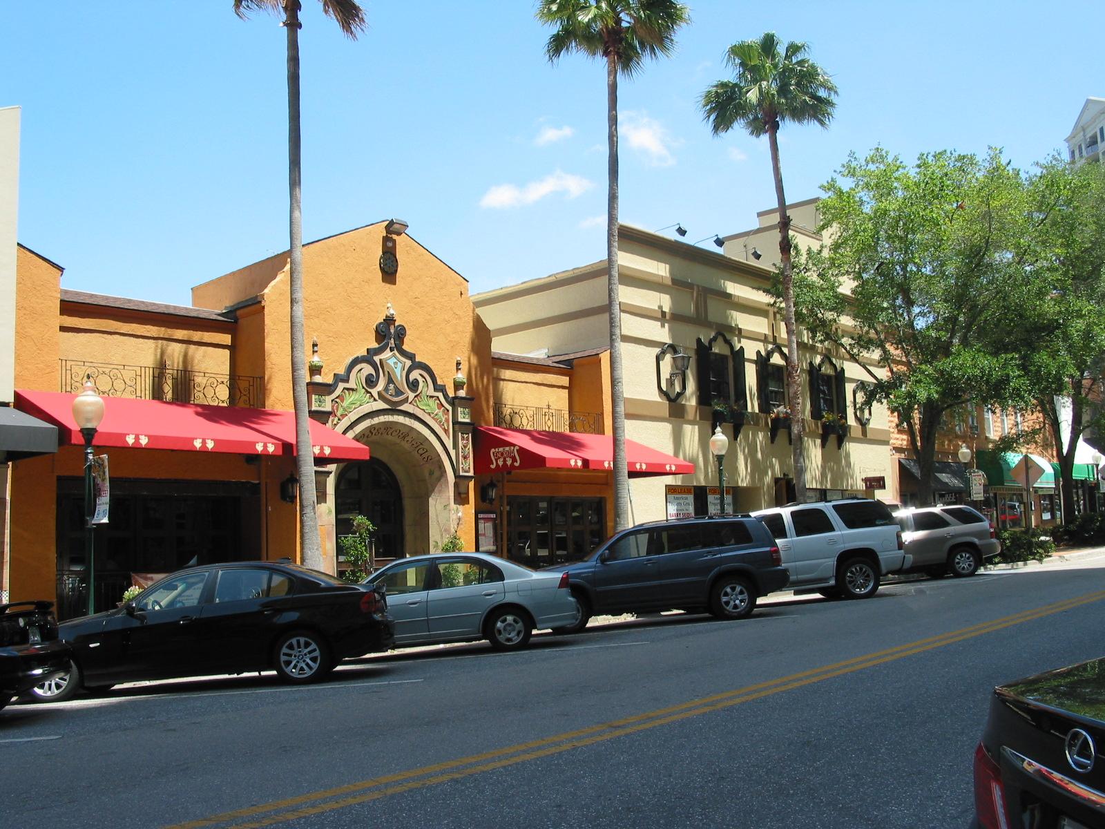 Mexican Restaurant On Main Street Sarasota