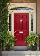 colonial front door