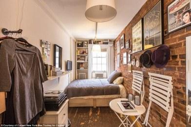 cramped bedroom